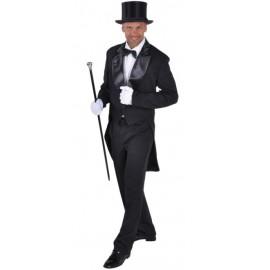 Déguisement queue de pie cabaret noire homme luxe