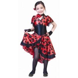 Déguisement Espagnole Flamenco Evita Enfant Fille