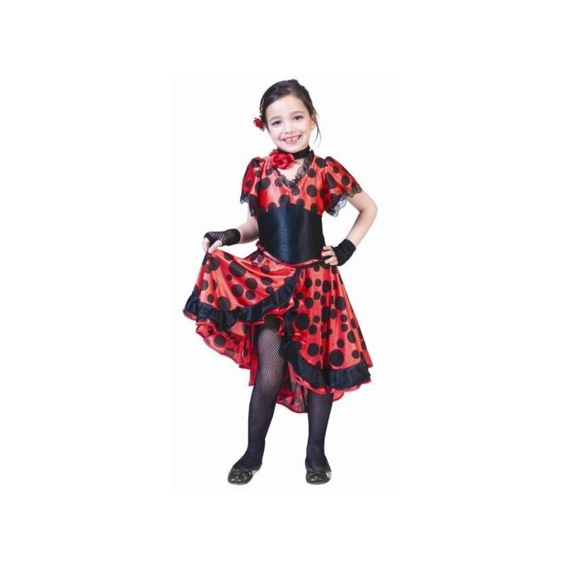 d guisement espagnole flamenco fille achat d guisements espagnole. Black Bedroom Furniture Sets. Home Design Ideas
