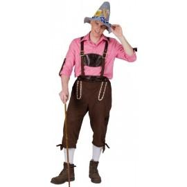 Déguisement tyrolien pantalon deluxe homme