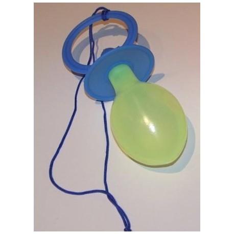 Tetine geante bleue Accessoire de deguisement adulte