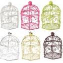 Cages à Oiseaux Bonbonnières couleur à dragées les 2
