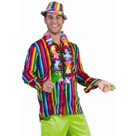 Déguisement chemise hippie homme