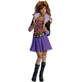 Déguisement Clawdeen Wolf Monster High Enfant Fille