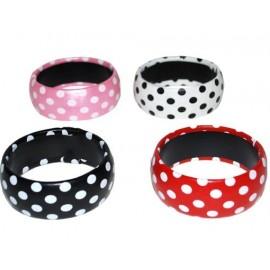 Bracelet A Pois couleur Accessoire Annees 50 60 Bijou