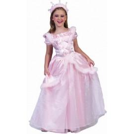Déguisement princesse Elegance fille : ce déguisement princesse fille rose