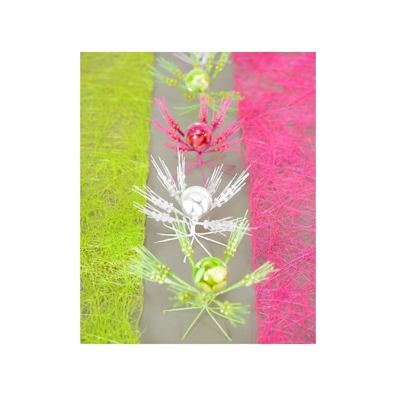 Decoration Table Urne Mariage : Epis de blé avec perles décoration mariage