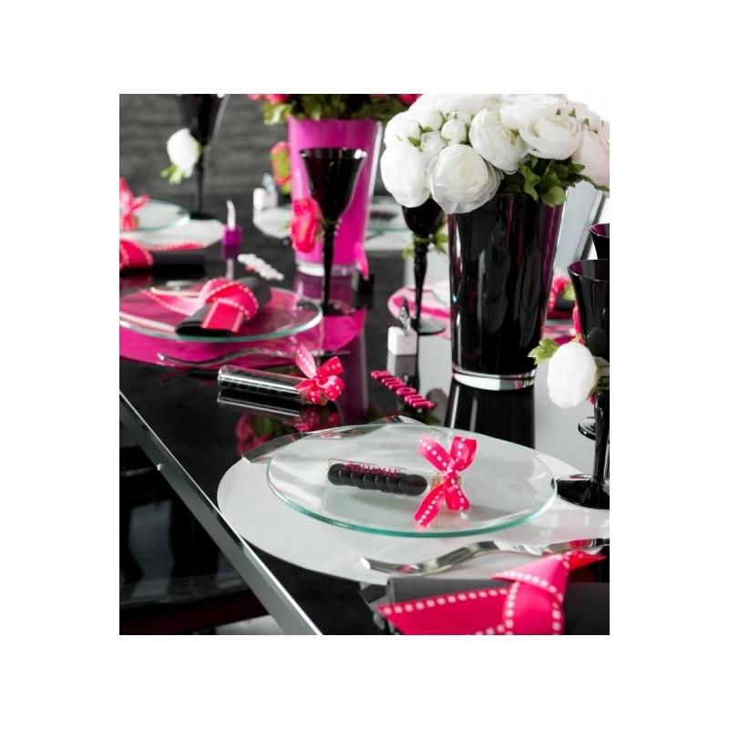 sets de table ronds brillant mat couleur les 6. Black Bedroom Furniture Sets. Home Design Ideas
