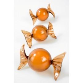Boîtes à dragées Bonbon Papillote Couleur 8.5 cm les 6