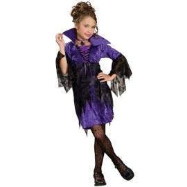 Déguisement sorcière gothique fille