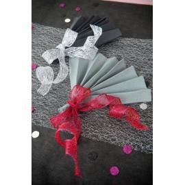 Confettis Rond Pailleté Couleur Décoratifs 1.5 cm les 50