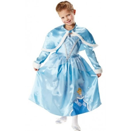 Deguisement cendrillon disney princess avec capeline Enfant