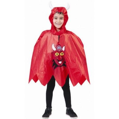 Déguisement poncho diable enfant Halloween