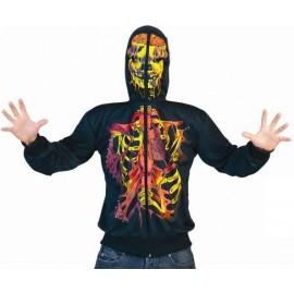 Déguisement squelette ghost homme