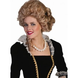 Collier Grosses Perles Nacrées Ivoire Femme
