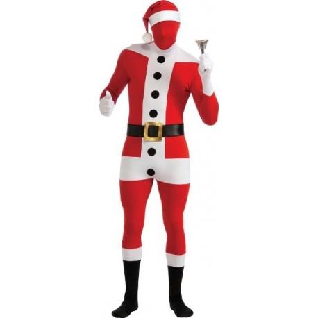 Déguisement Père Noël 2nd Skin Suit Santa Claus Adulte