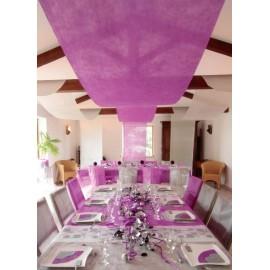 Tenture de salle intissé couleur 12 M Tenture mariage