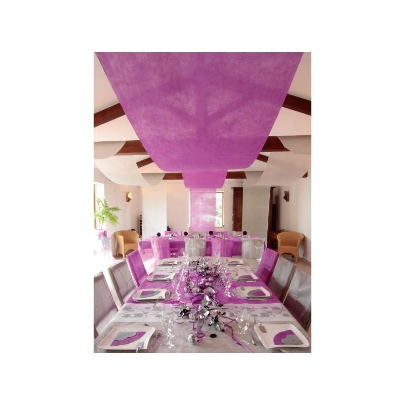 Tenture de salle intissé couleur 12 M Tentures mariage