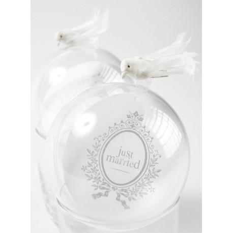 Boule Transparente 10 cm