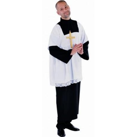 Costume de Déguisement Servant de Messe Deluxe Adulte