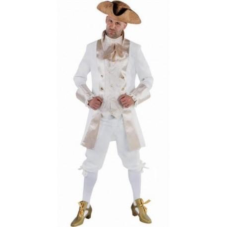 Costume Déguisement Marquis Crème Deluxe Adulte