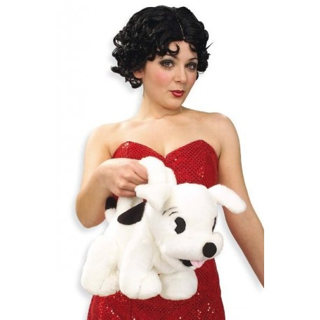 Sac Betty Boop Chien Pudgy en Peluche (sac a main)