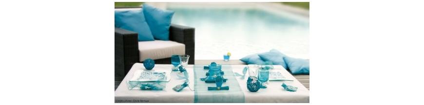 Deco Turquoise, Ciel, Marine, Bleu, Bleu Roy