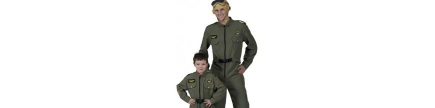 Aventurier, aviateur, militaire, soldat