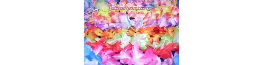 Accessoires Hawaï, colliers Hawaï, jupes Hawaï