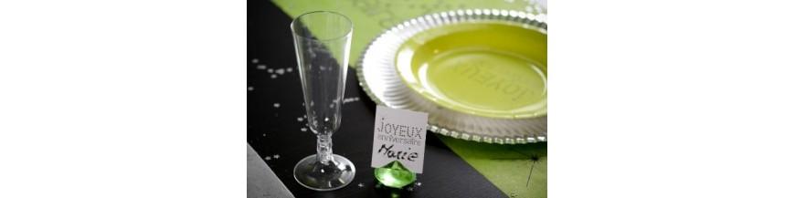 Flûte à champagne, Verrine
