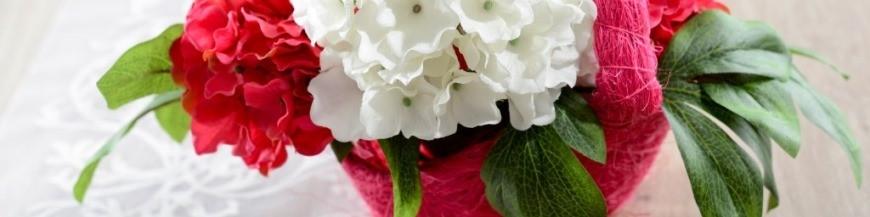 Panier à pétales, à fleurs et confettis mariage