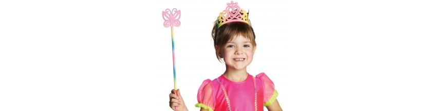 Baguette fée, princesse, diadème, couronne, tiare