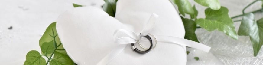 Coussin alliances mariage
