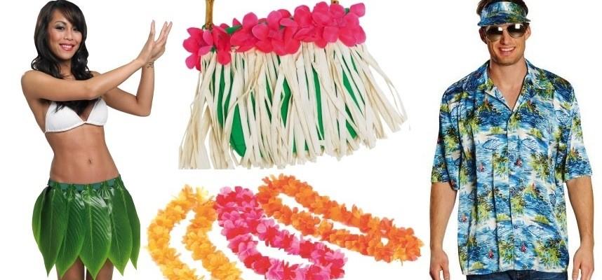 Déguisements Hawaï et déco Hawaï