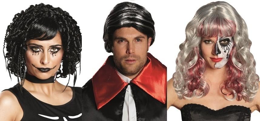 Perruques Halloween