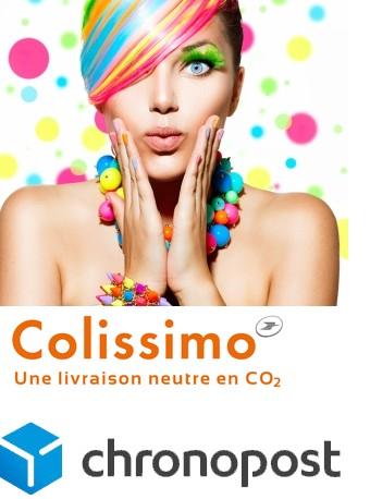 Livraison Colissimo 24/48 H et Chronopost